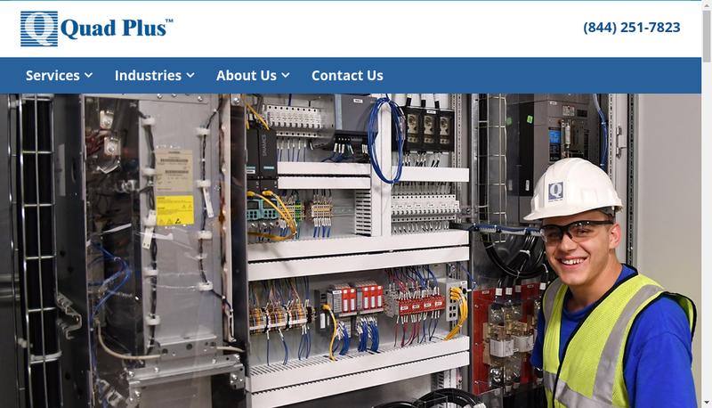 Capture d'écran du site de Serv Alliance