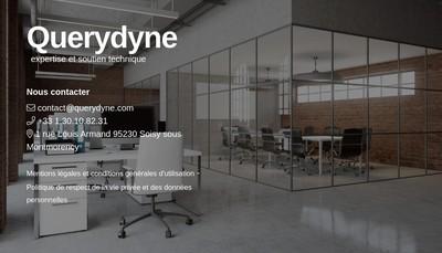 Site internet de Querydyne