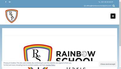 Site internet de Rainbow Pre-School