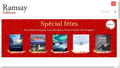 Site internet de Ramsay Editions