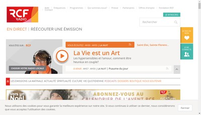 Site internet de Rcf Orne
