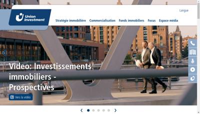 Capture d'écran du site de Euragone