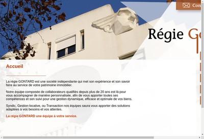 Site internet de G2G - Groupe Immobilier