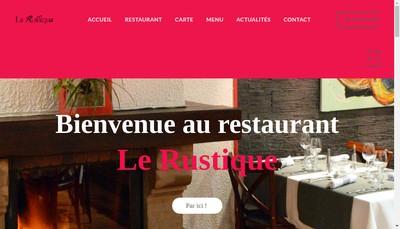 Site internet de Le Rustique
