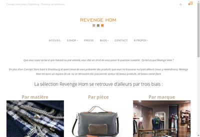 Site internet de Revenge Hom