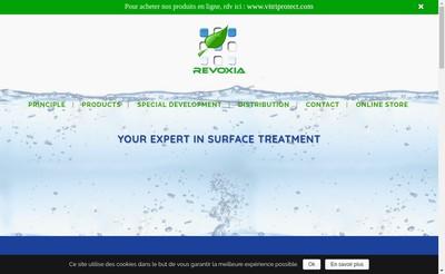 Site internet de Revoxia