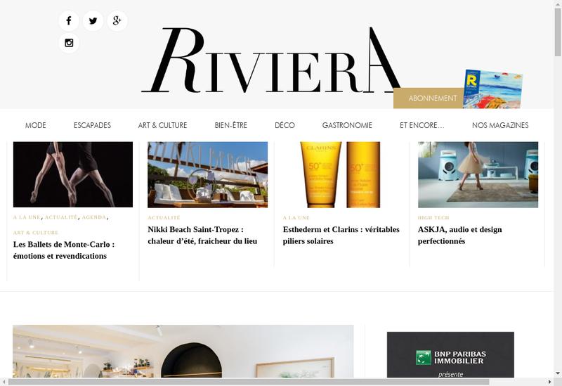 Capture d'écran du site de Euro Editions Sud