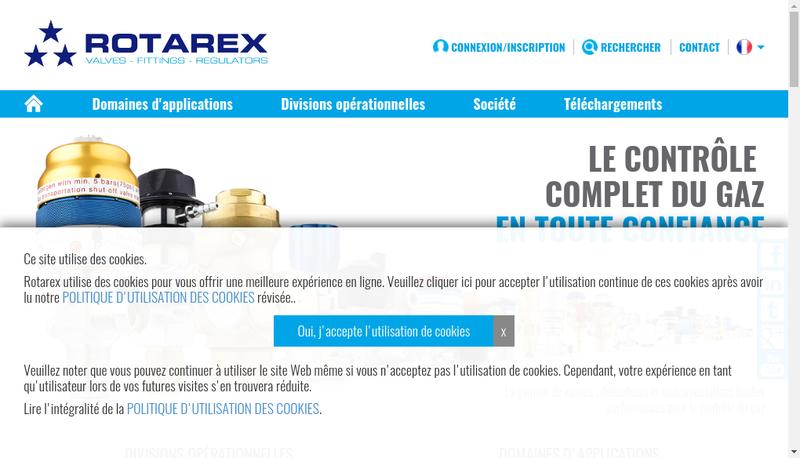 Capture d'écran du site de Societe de Mecanique des Tilles