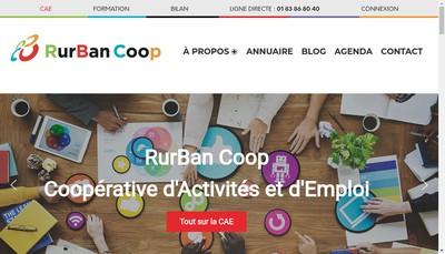 Site internet de Rurban Coop