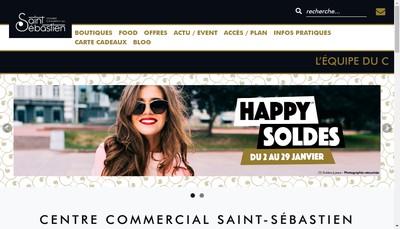 Site internet de Saint Sebastien Coiffures
