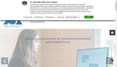 Site internet de Marcel Sala