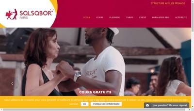 Site internet de Salsabor