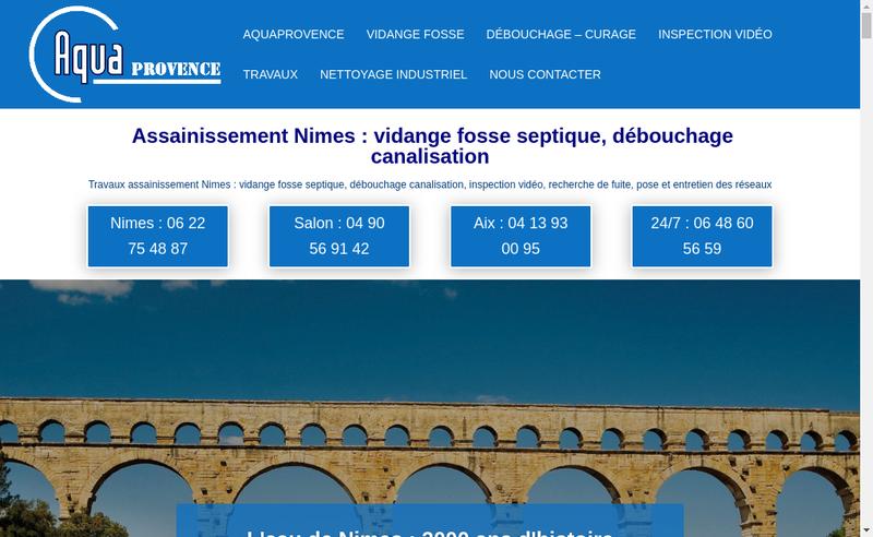 Capture d'écran du site de Suez Rv Osis Est