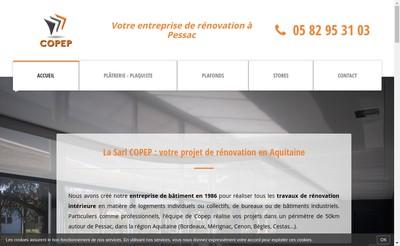 Site internet de Copep