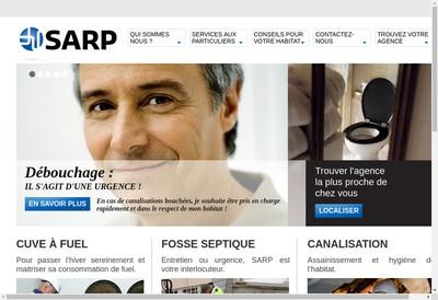 Site internet de Societe Assainissement Rationnel et Pompage