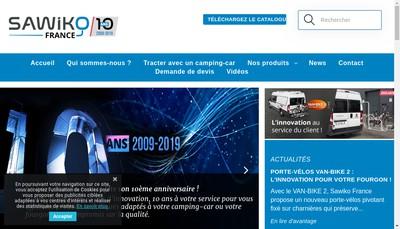 Site internet de Sawiko France