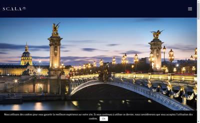 Site internet de Scala Patrimoine