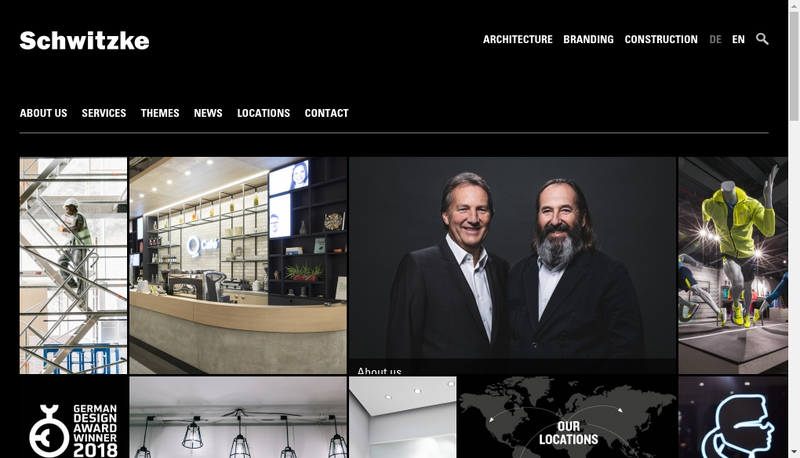 Capture d'écran du site de Schwitzke France