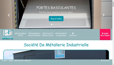 Site internet de Societe de Metallerie Industrielle