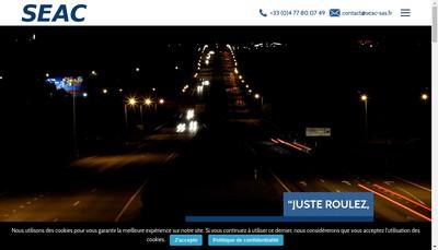 Site internet de Saint-Etienne Automotive Components
