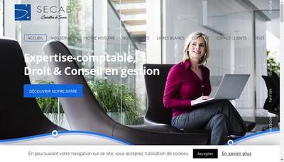 Site internet de Secab Holding
