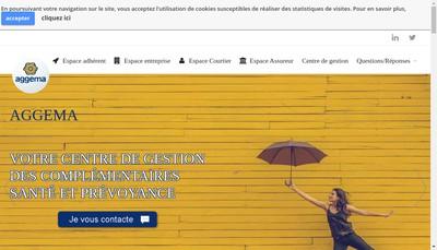 Site internet de Aggema