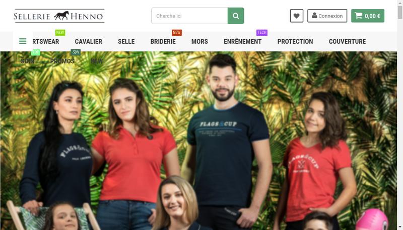 Capture d'écran du site de Les Eperons d'Argent