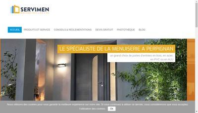Site internet de Servimen