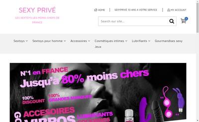 Site internet de Sexy Prive Com