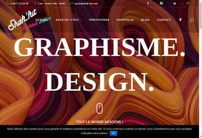 Site internet de Shak'Kit - Icon By Shak'Kit