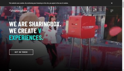 Site internet de Sharingbox France