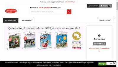Site internet de Mobiles Magazine, Ilive, Your Phone Ma