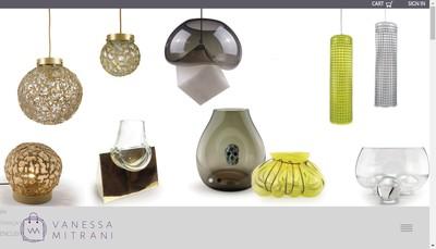 Site internet de Vanessa Mitrani Creations