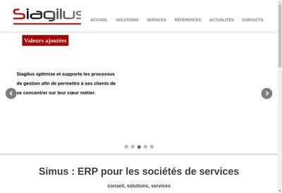 Site internet de Siagilus