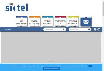 Site internet de SICTEL