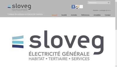 Site internet de Societe de Location Video et d'Electricite Generale