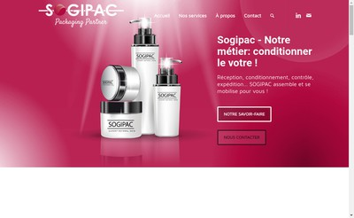 Site internet de Sogipac