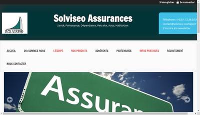Site internet de Solviseo
