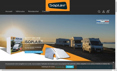 Site internet de Soplair