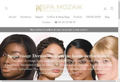 Site internet de Spa Mozaik