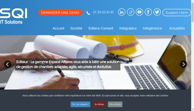 Site internet de SQI