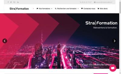 Site internet de Straformation