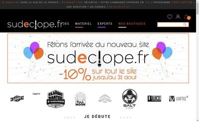 Site internet de Sud E Clope