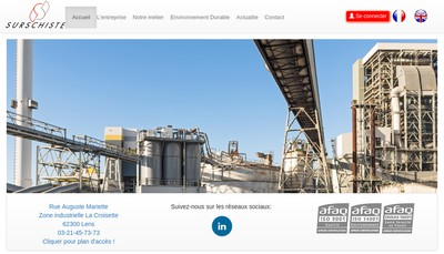 Site internet de Surschiste SA