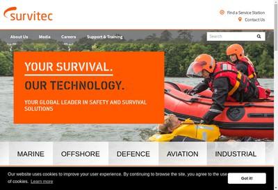 Site internet de Survitec SAS