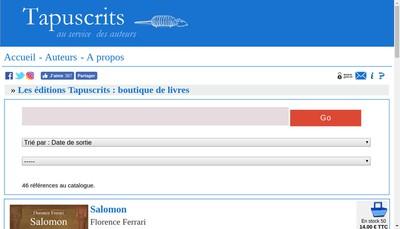 Site internet de Le Criquet