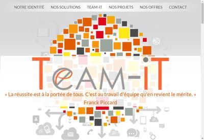 Site internet de Team-It