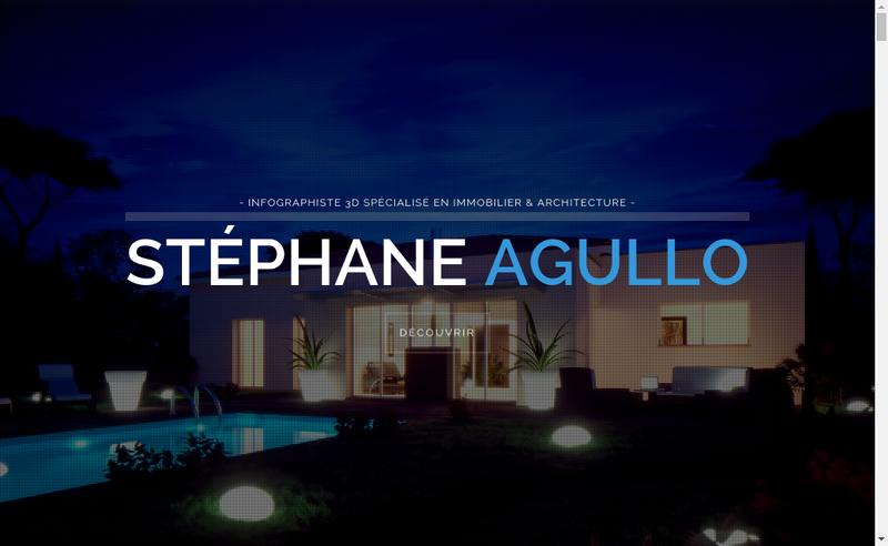 Capture d'écran du site de Stephane Agullo