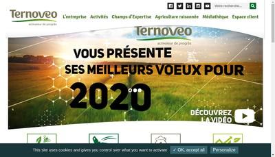 Site internet de Ternoveo