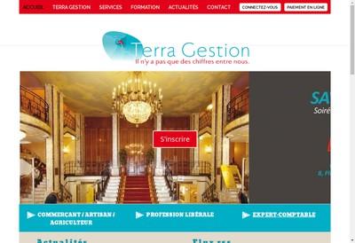 Site internet de Terra Gestion